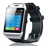 梦18 D5新型 蓝牙手表手机 手机伴侣 智能通用型 安卓苹果小米iphone (黑色)-图片