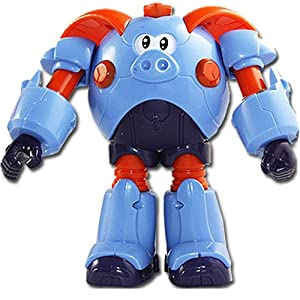 中南卡通 钢甲卡卡龙 12生肖变形玩具 吸塑板益智 动漫玩具 120111