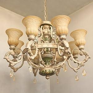 洛塔灯饰 奢华 手绘欧式吊灯 客厅灯 卧室灯 餐厅灯 书房灯 走廊灯