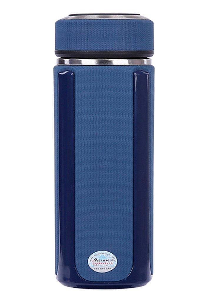 三和正品保温杯真空不锈钢高档保温杯男女士商务杯 245-330ml (蓝色)