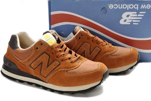 New Balance 新百伦 工装系列 男式运动复古休闲鞋 棕色 ML574WKB