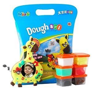 3d彩泥 六一儿童节推荐礼物 diy手工益智玩具首选 安全环保 (长颈鹿相