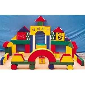 幼儿园大型软体积木儿童玩具幼儿园设备海绵