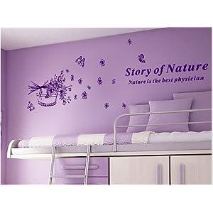 沙发墙客厅电视墙卧室浪漫可移除贴花