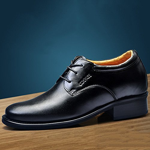 Gog 高哥 男士隐形增高鞋男式10cm10厘米 霸气增高 真皮鞋内增高男鞋高哥鞋