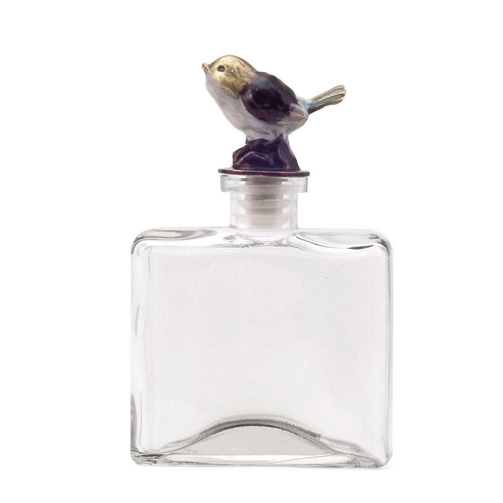 creative home 可立特 美式乡村小鸟玻璃瓶摆饰 创意香水瓶装饰瓶子 d图片