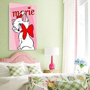 佳彩天颜 数字油画diy款 客厅儿童卡通简单手绘装饰画