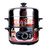 Midea美的电蒸锅SYH28-21(蒸\煮\炖\焖\涮全能烹饪好帮手、防干烧安全设计)-图片