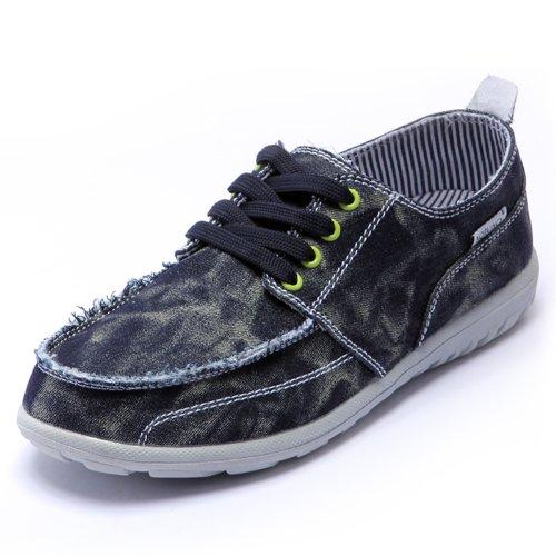 NORVINCY 诺凡希 时尚帆布鞋男鞋 透气格纹鞋懒人鞋 英伦韩版板鞋子 NVC12003 3.28
