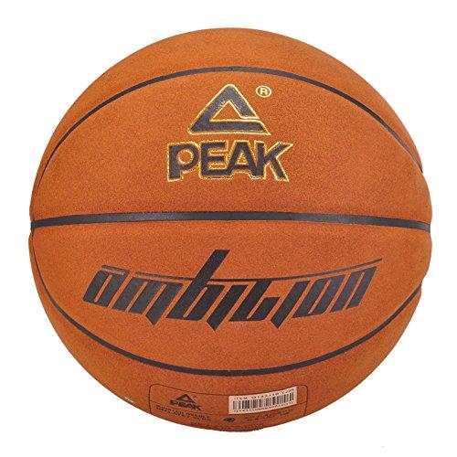 PEAK/匹克篮球 新款室外室内超纤软皮比赛7号标准篮球 Q143110