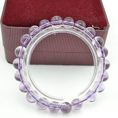 第一塔 纯天然水晶手链sj204 紫水晶 招财旺运 晶石手串 女款 (10