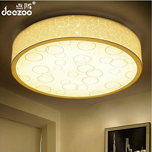 点阵现代简约吸顶灯led客厅灯卧室 灯具圆形温馨餐厅房间灯饰 (52w