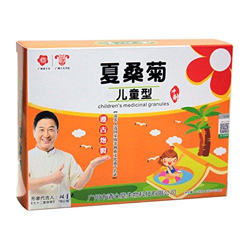 清心堂 儿童夏桑菊 16包 广东凉茶冲剂颗粒-图片