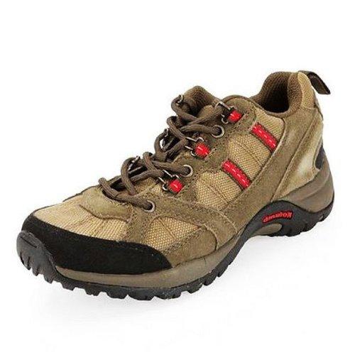 Kolumb 哥仑步 女子户外时尚舒透耐磨低帮徒步鞋 400401 卡其