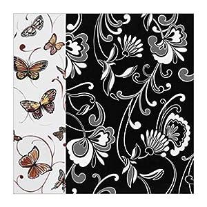 黑白抽象装饰画|黑白抽象|蝴蝶|昆虫和