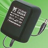 新英 变压器 XY-004K 输出DC12V 250mA 电源适配器 直流电源 (黑色)-图片