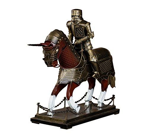 saree 莎芮 欧洲中世纪金属盔甲骑士摆设 仿古盔甲模型摆件 古代铁甲图片