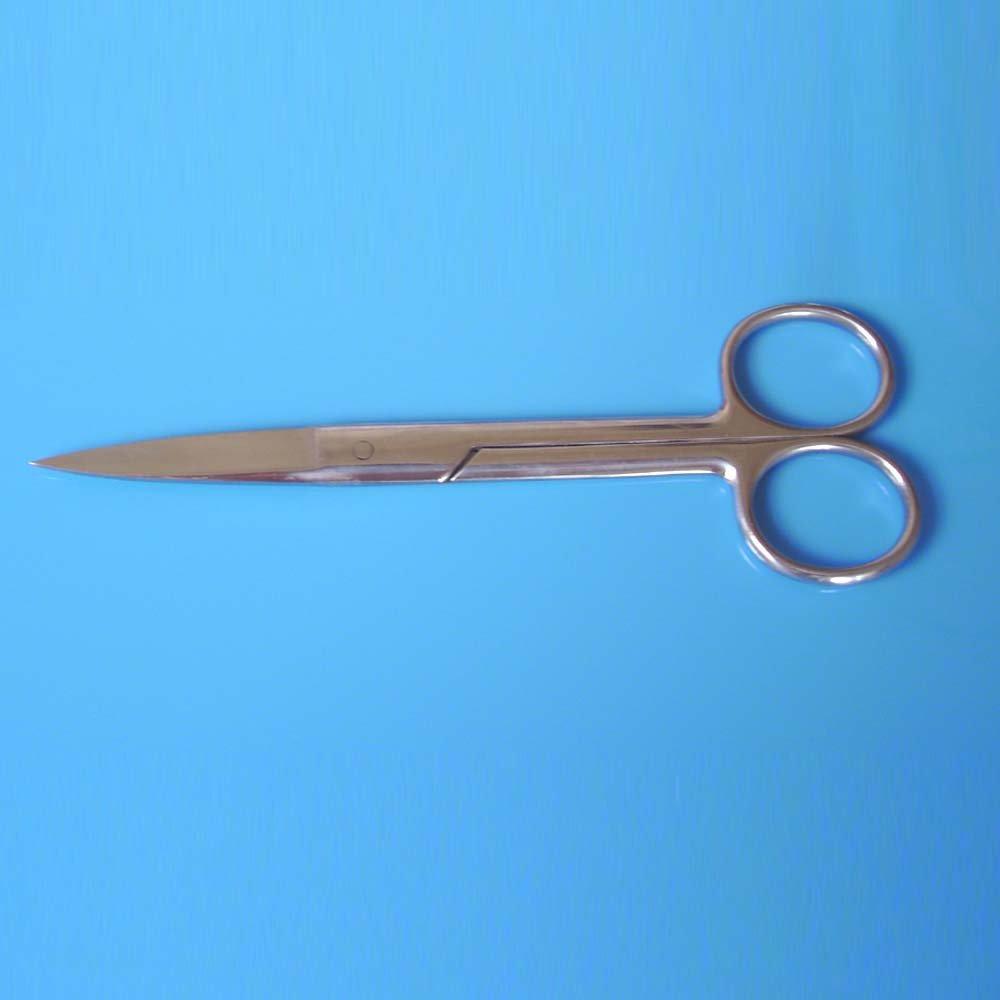 【双银牌】不锈钢剪刀 修毛剪刀 办公剪刀 医用剪刀 宠物剪刀 实验