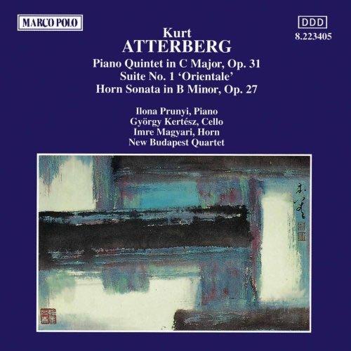 特伯格 钢琴五重奏曲 第一组曲 圆号奏鸣曲 Atterberg Piano Quintet