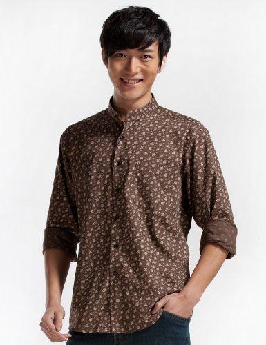 Seven 柒牌 柒系列 男式 长袖衬衫 799A3050