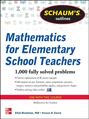 Schaum's Outline of Mathematics for Elementary School Teachers.pdf