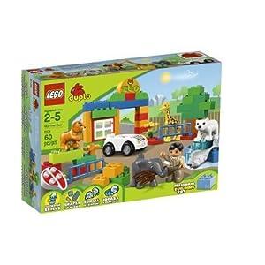 乐高LEGO得宝Duplo大颗粒动物园6136