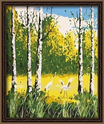 客厅风景花卉情侣手绘装饰画