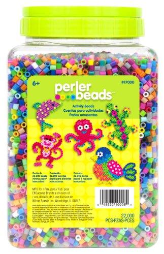 Perler 彩虹串珠罐 五颜六色 22,000 个