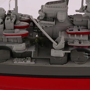 手工制作废纸盒做军舰