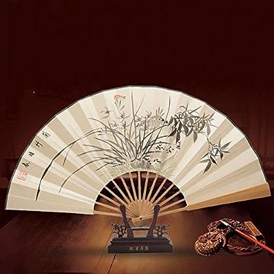 玉竹扇纸扇中国风折扇手绘男扇子教师