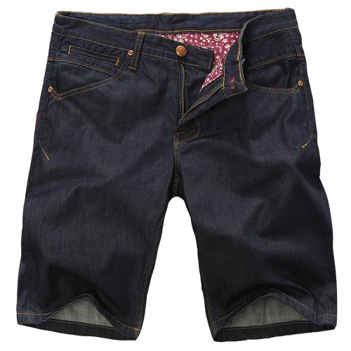 Mark Fairwhale 马克华菲 JEANS系列 男式 休闲短裤 7122631009