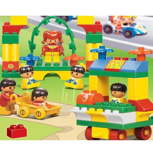 小鲁班梦想乐园b6010 乐高式拼装积木 儿童创意启发启蒙益智玩具图片