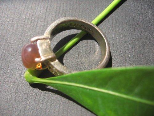 DIY 现货琥珀原石打磨纯天然无优化 印尼蓝珀戒指-图片