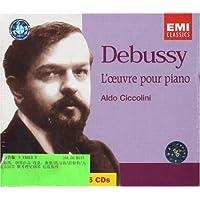 进口CD:德彪西:钢琴作品