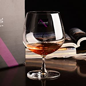 lucaris 卢卡里斯 顶级 进口无铅水晶白兰地杯洋酒杯威士忌杯烈酒杯高