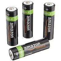 比海淘划算:Amazon Basics 亚马逊倍思 AA 5号镍氢充电电池(4 节、2000毫安)