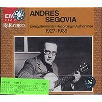进口CD:安德列斯·赛格维亚演奏的吉他曲1927-1939