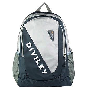 威豹迪威丽 运动休闲双肩背包11144-深蓝配浅灰黑图片