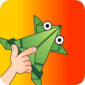 游戏中玩家控制纸青蛙的跳跃方向与力度