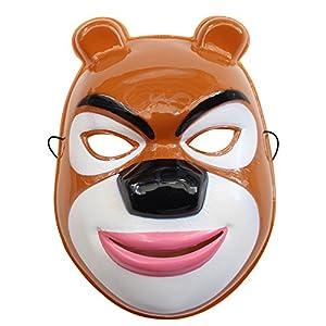 儿童节面具万圣节 面具 化妆舞会表演演出 熊出没 光头强 220x220-熊