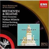 进口CD:贝多芬/ 勃拉姆斯 小提琴协奏曲-USA