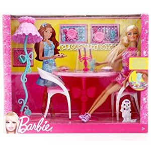 Barbie芭比 餐厅组合X7942