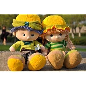 雅皮士布娃娃可爱玩具送儿子女儿情侣男女