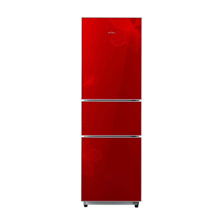 美的 BCD-215TGMK(E)215升三门冰箱(芳雅红)