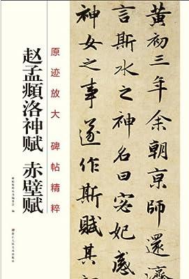 原迹放大碑帖精粹:赵孟頫洛神赋赤壁赋.pdf