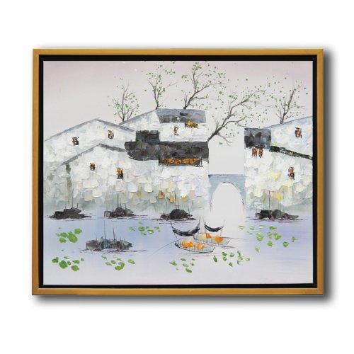 in-life宜生活 纯手绘油画系列 客厅卧室装饰画 工艺画 家装壁画限量图片