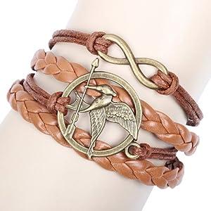 尼美 编织手环 游戏小鸟图标diy手环 手链饰品 速卖通
