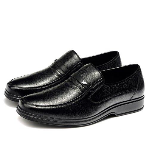 富贵鸟 新款系带商务休闲鞋 时尚真皮正装鞋 百搭经典皮鞋 英伦懒人套脚 简约男鞋