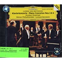进口CD:贝多芬钢琴协奏曲3-4