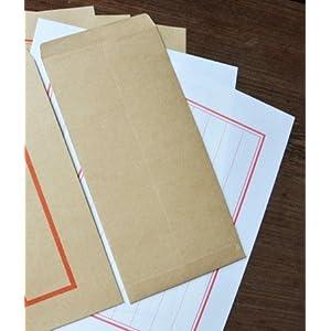 墨然[coffeex-05]中国风传统信封 中式牛皮纸5号信封